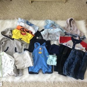 Other - 22 Piece Huge Baby Boy Bundle!! 6-9 Months